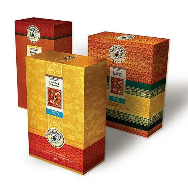 瑞典茶产品包装一